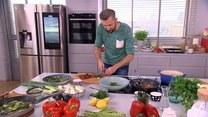 Piotr Kucharski i pierwsze strączki w kuchni