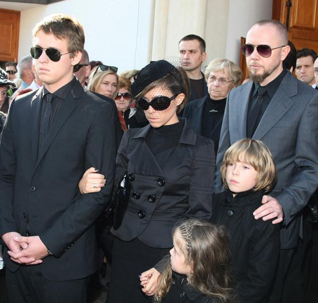 Piotr Kukulski, Natalia Kukulska na pogrzebie ojca /Jarosław Wojtalewicz /AKPA