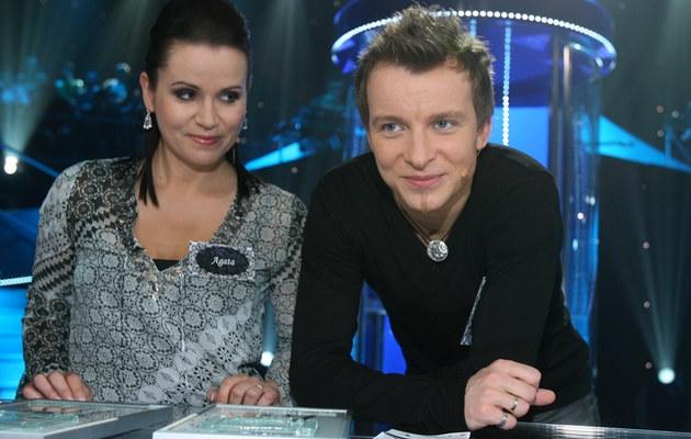 Piotr Kupicha i żona Agata /- /MWMedia