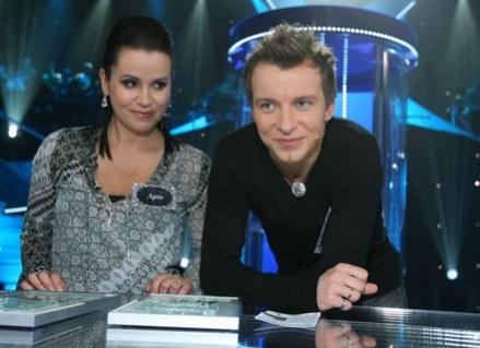 Piotr Kupicha z żoną Agatą /MWMedia