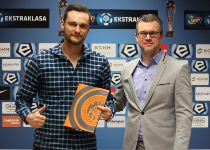 Piotr Leciejewski (z lewej) /printscreen /