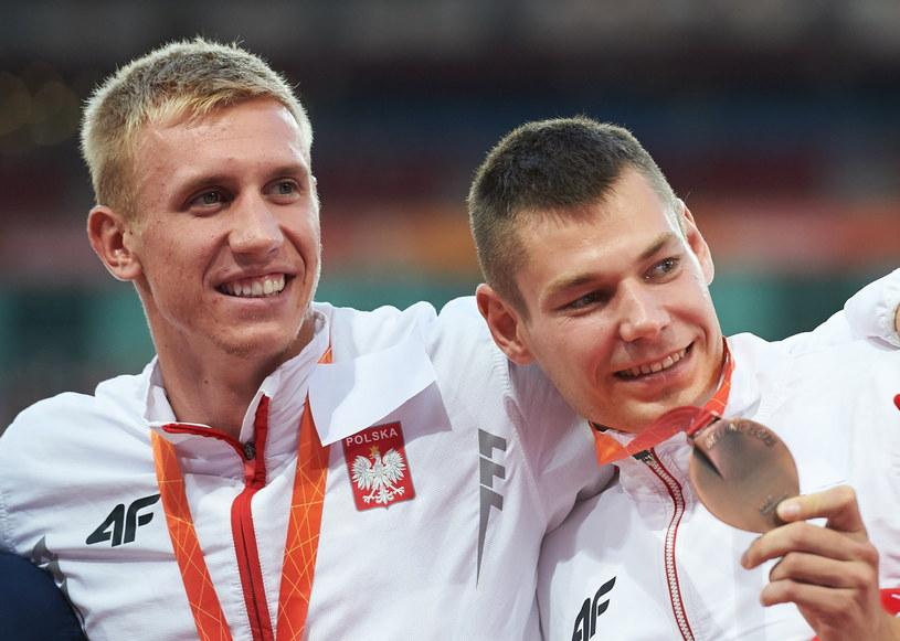 Piotr Lisek i Paweł Wojciechowski /Fot. Adam Warżawa /PAP