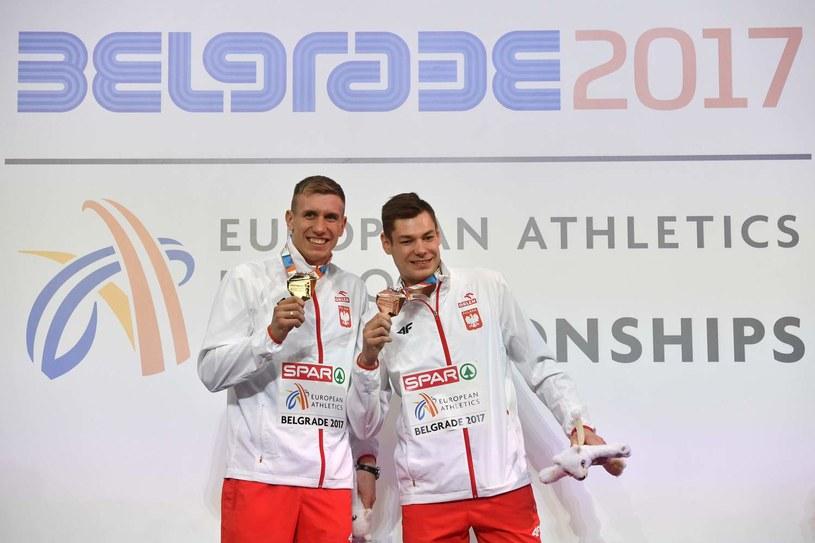 Piotr Lisek (z lewej) /AFP