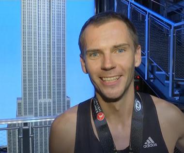 Piotr Łobodziński zwycięzcą biegu na Empire State Building. Wideo