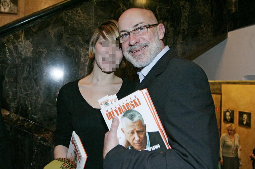Piotr Machalica z córką w 2008 roku /Niemiec /AKPA