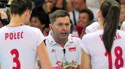 Piotr Makowski nie jest już trenerem reprezentacji Polski siatkarek