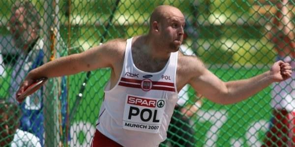 Piotr Małachowski, fot. Marek Biczyk /Agencja Przegląd Sportowy