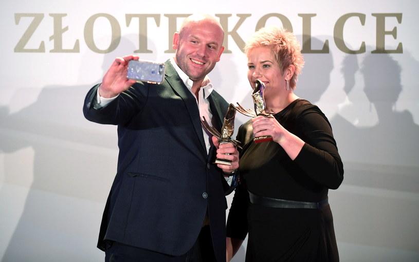 Piotr Małachowski i Anita Włodarczyk /Bartłomiej Zborowski /PAP