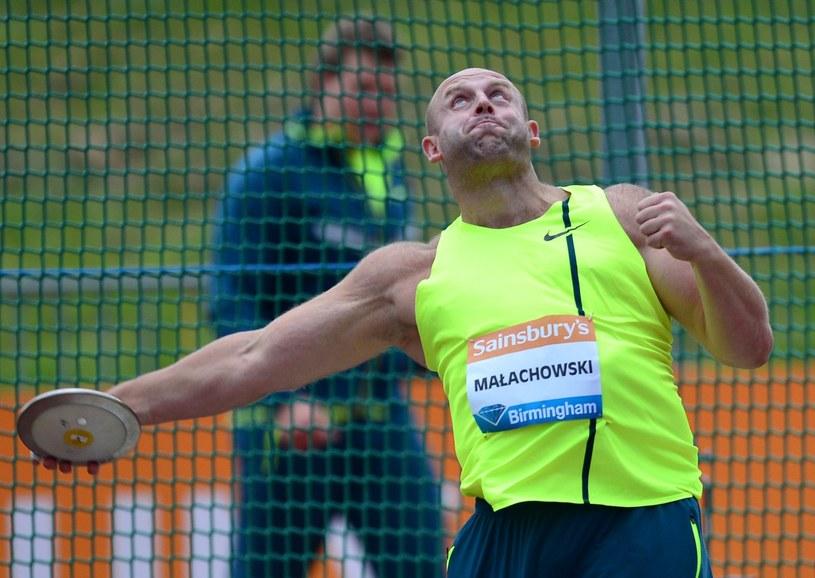 Piotr Małachowski. /AFP