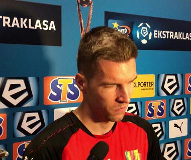 Piotr Malarczyk po meczu z Zagłębiem Lubin (0-2). Wideo