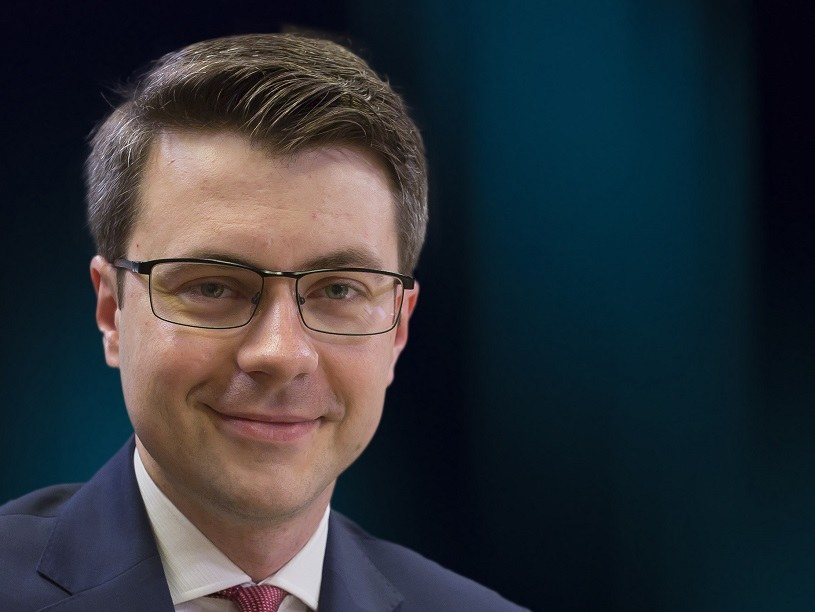 Piotr Müller, rzecznik rządu /Ewa Mielczarek /Getty Images