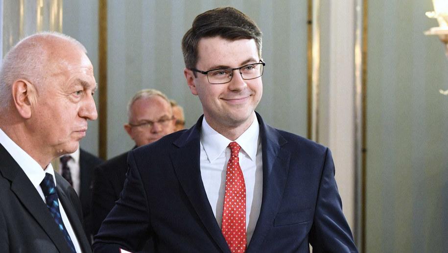 Piotr Müller /Leszek Szymański /PAP
