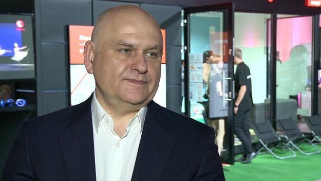Piotr Muszyński, wiceprezes zarządu Orange Polska /Newseria Inwestor