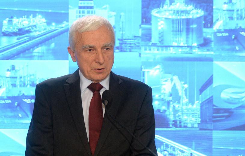 Piotr Naimski, pełnomocnik rządu ds. strategicznej infrastruktury energetycznej /Jan Bielecki /Agencja SE/East News