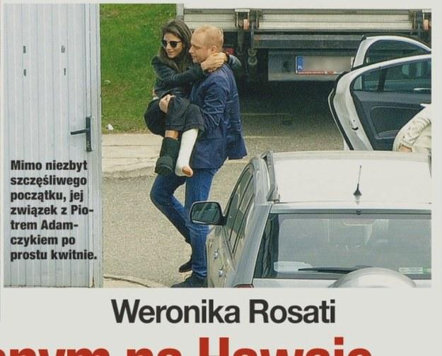 Piotr nosi Weronikę na rękach! /- /Świat & Ludzie