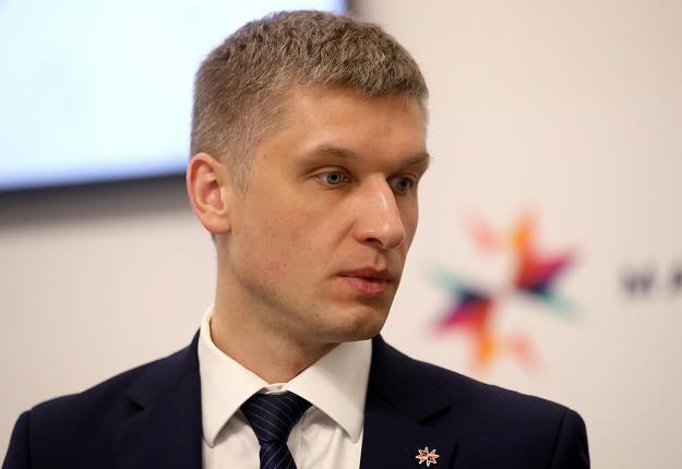 Piotr Nowak - wiceminister finansów /PAP