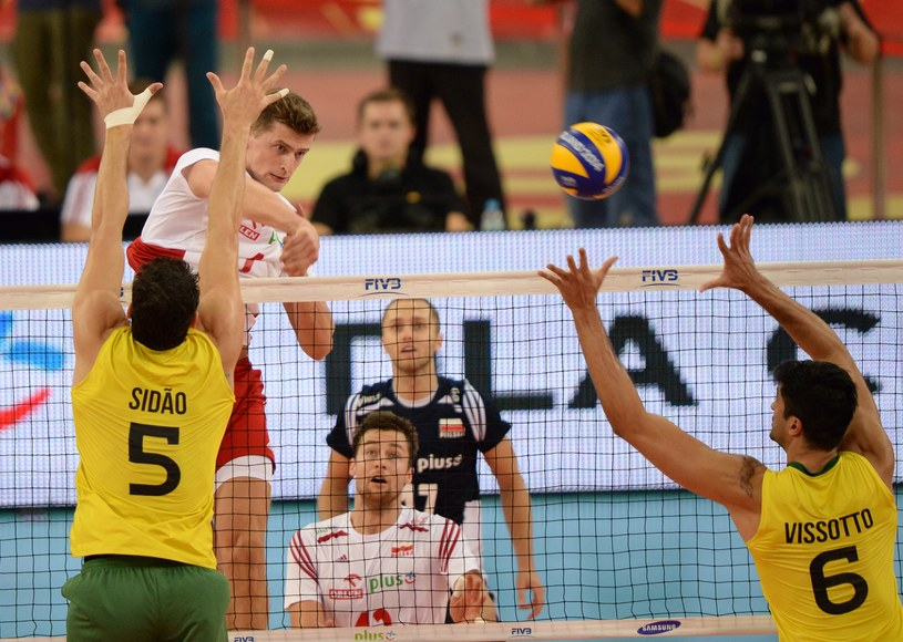 Piotr Nowakowski (w ataku) /Piotr Hawałej /Getty Images