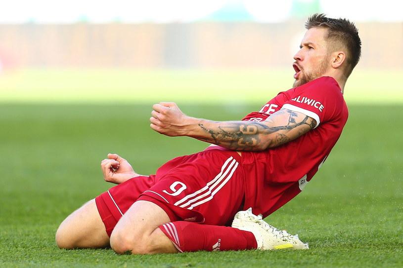 Piotr Parzyszek znalazł się na liście życzeń włoskiego Frosinone Calcio /Piotr Matusewicz /East News