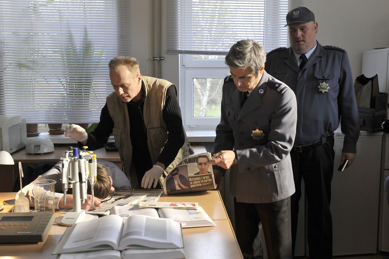 Piotr Polk, Andrzej Musiał, Rafał Królikowski i Michał Piela /Gałązka /AKPA