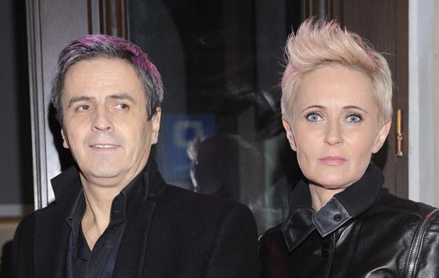 Piotr Polk i Joanna Gajewska /Jarosław Antoniak /MWMedia