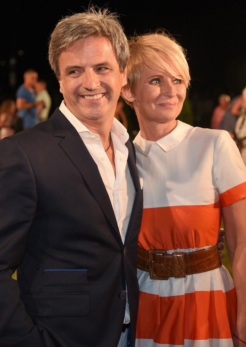 Piotr Polk i Joanna Gajewska /East News