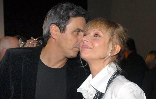 Piotr Polk z żoną, fot. Marek Ulatowski  /MWMedia