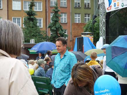 Piotr Pręgowski na Festiwalu Dobrego Humoru/ fot. Hanna Krzyżanowska /INTERIA.PL