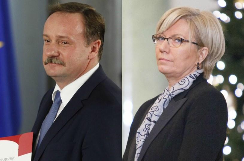 Piotr Pszczółkowski i Julia Przyłębska /STEFAN MASZEWSKI/Aleksandra Szmigiel /Reporter