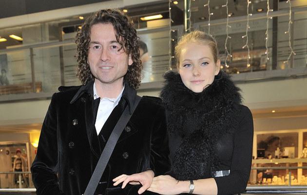 Piotr Rubik i jego żona Agata.  /Jarosław Antoniak /MWMedia