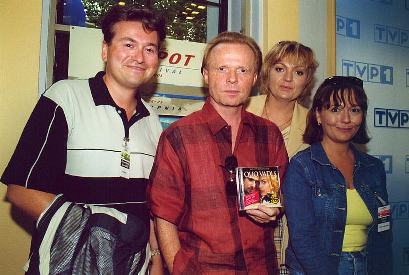 Piotr Rubik kiedyś ważył prawie 100 kilogramów! Zdj. z 2001 roku /Niemiec /AKPA
