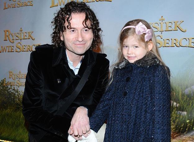 Piotr Rubik z córką Helenką /MWMedia
