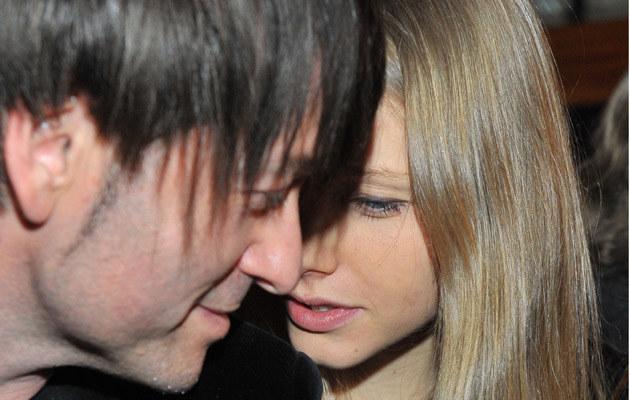 Piotr Rubik z żoną Agatą /fot.Radosław Nawrocki  /Agencja FORUM