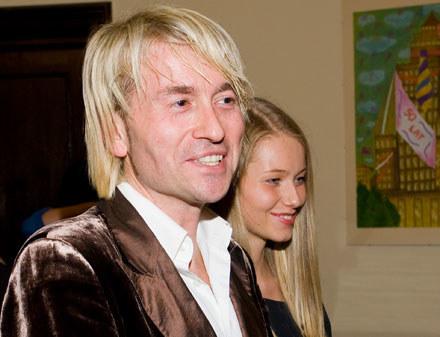 Piotr Rubik z żoną /MWMedia