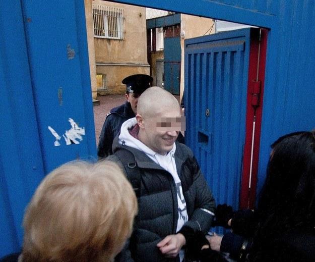 Piotr S., pseudonim Staruch /Krystian Dobuszyński /Reporter