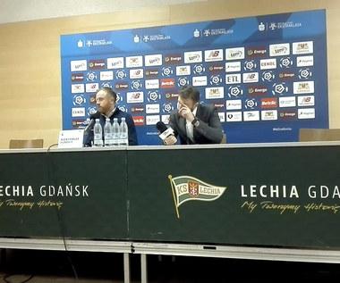 Piotr Stokowiec po meczu Lechia - Legia. Wideo