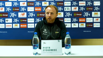 Piotr Stokowiec przed meczem z Górnikiem Zabrze. Wideo