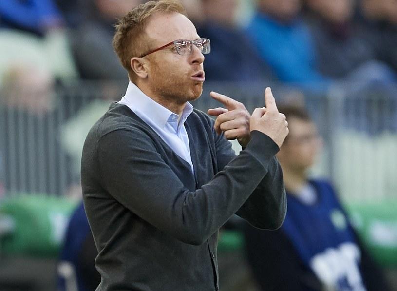 Piotr Stokowiec, trener Lechii /Adam Warżawa /PAP