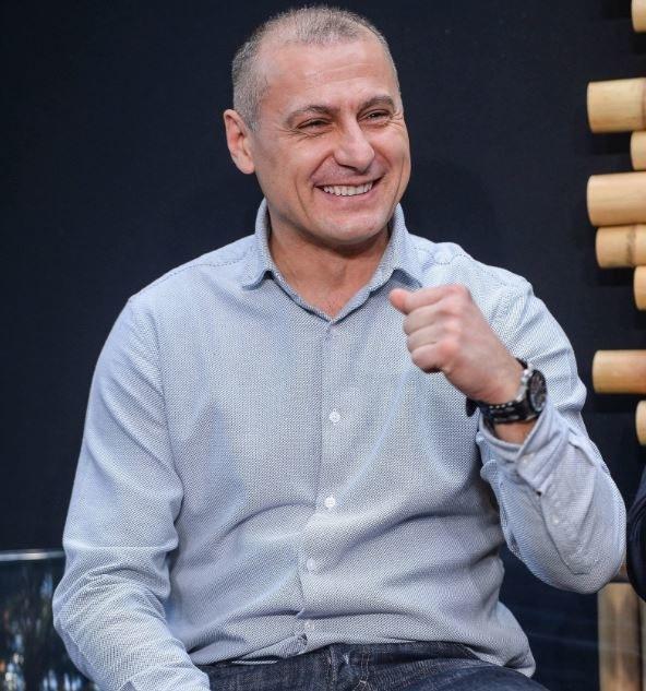 Piotr Świerczewski: Olympique Marsylia się odradza, trzymam kciuki za wygraną w finale Ligi Europy /Stach Leszczyński /PAP