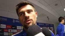 Piotr Tomasik po transferze do Lecha Poznań. Wideo
