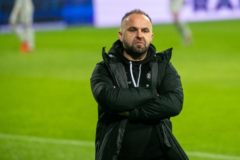 Piotr Tworek, trener Warty Poznań /Łukasz Gdak/Polska Press /East News