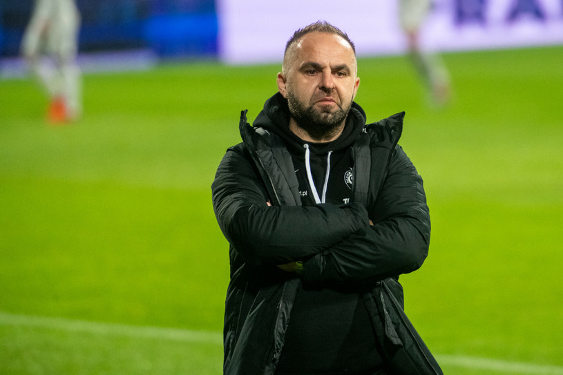 Piotr Tworek, trener Warty /Łukasz Gdak/Polska Press /East News