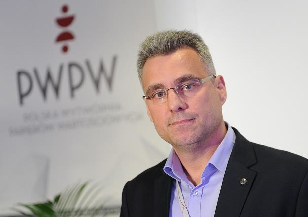 Piotr Woyciechowski, prezes PWPW. Fot. Bartosz Krupa /Agencja SE/East News