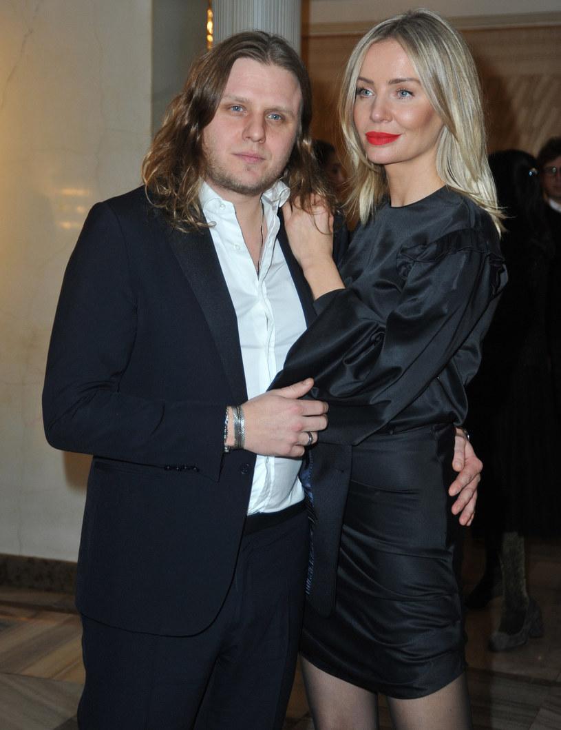 Piotr Woźniak-Starak i Agnieszka Woźniak-Starak /Zawadzki /Reporter