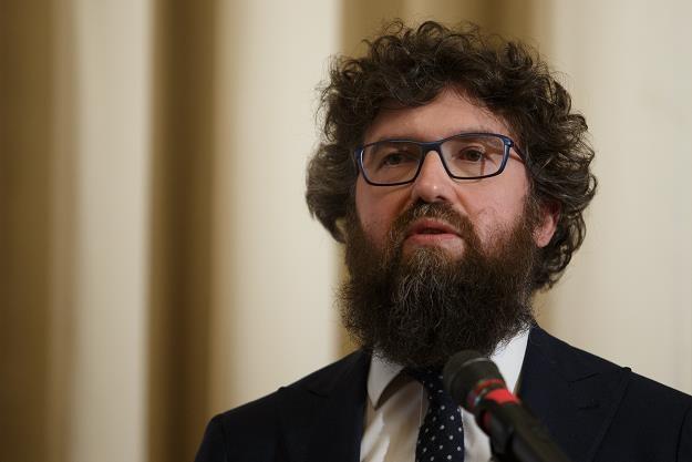 Piotr Woźny, pełnomocnik ds. Programu Czyste Powietrze. Fot. Krystian Maj /FORUM