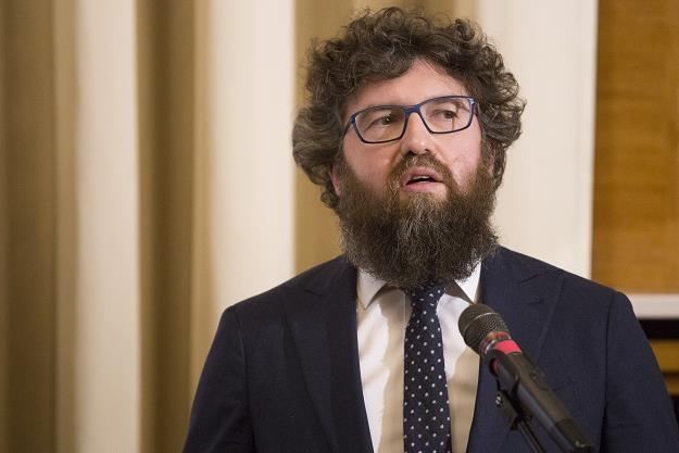 Piotr Woźny, wiceminister przedsiębiorczości. Fot. Maciej Luczniewski /Reporter