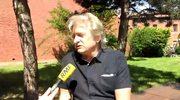 Piotr Zapart organizator zbiórki pieniędzy na budowę pomnika Sobieskiego Pawłowski robi materiał