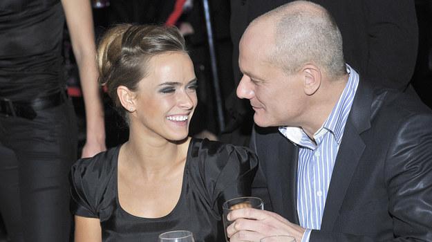 Piotr Zelt (43 lata ) i Monika Ordowska (22 lata) /   /AKPA