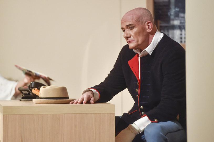 Piotr Zelt na deskach teatralnych /Kurnikowski /AKPA