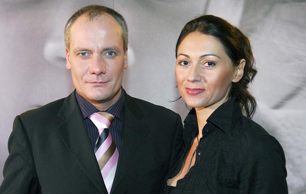 Piotr Zelt z żoną Ewą  /AKPA