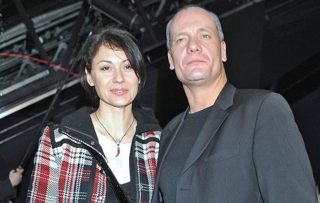 Piotr Zelt z żoną, fot. Andras Szilagyi  /MWMedia